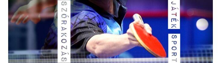 asztali tenisz hobby verseny szorakozas jatek szabadido szabadteri ping pong